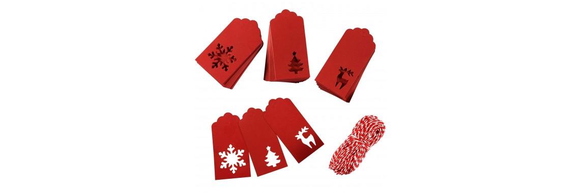 Kraft Christmas Tags